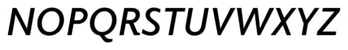 Elido Semi Bold Italic Font UPPERCASE