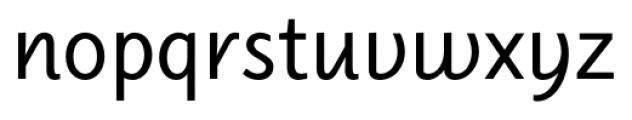 Elido Upright Italic Font LOWERCASE