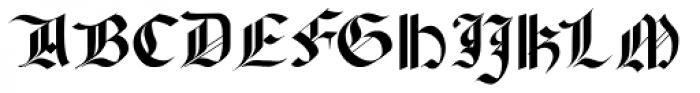 El Cid Swashed Font UPPERCASE