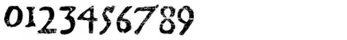 El Franco Distressed Font OTHER CHARS