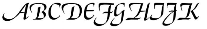 El Greco BQ Font UPPERCASE