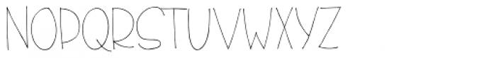 El Guapo Sans Regular Font UPPERCASE