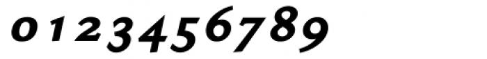 Ela Demiserif Black Italic Font OTHER CHARS
