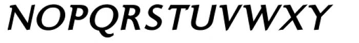 Ela Demiserif Bold Caps Italic Font UPPERCASE