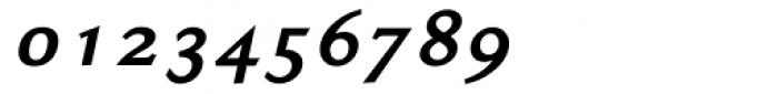 Ela Demiserif Bold Italic Font OTHER CHARS
