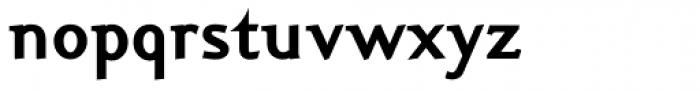 Ela Demiserif ExtraBold Font LOWERCASE