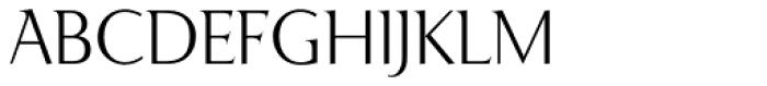 Ela Demiserif ExtraLight Caps Font UPPERCASE