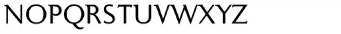 Ela Demiserif Light Caps Font LOWERCASE