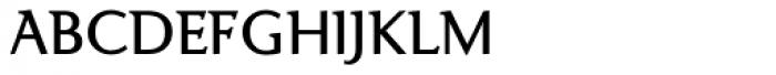 Ela Demiserif SemiLight Caps Font LOWERCASE