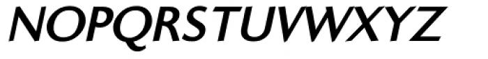 Ela Sans ExtraBold Caps Italic Font UPPERCASE