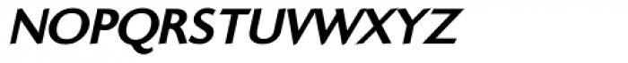 Ela Sans ExtraBold Caps Italic Font LOWERCASE