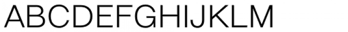 Elastik Light B Font UPPERCASE