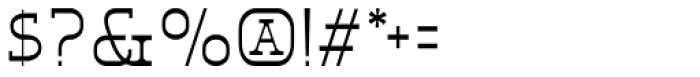 Eldridge Light Font OTHER CHARS
