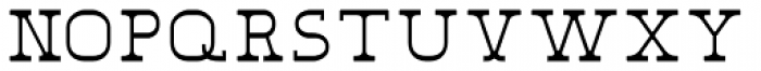 Eldridge Light Font LOWERCASE