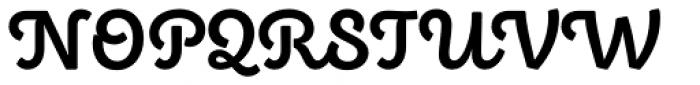 Eldwin Script Bold Font UPPERCASE