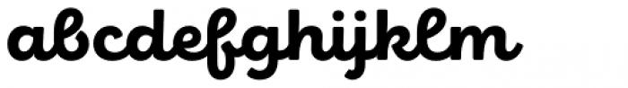 Eldwin Script Heavy Font LOWERCASE