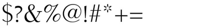 Electra LT Std Regular Font OTHER CHARS