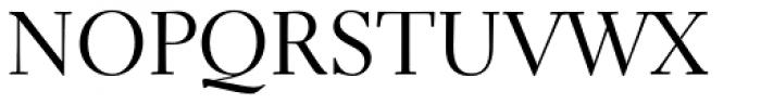 Electra LT Std Regular Font UPPERCASE