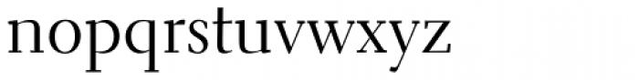 Electra Regular Font LOWERCASE