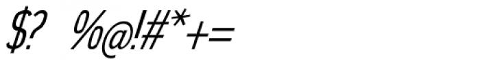 Elegancy Italic Font OTHER CHARS