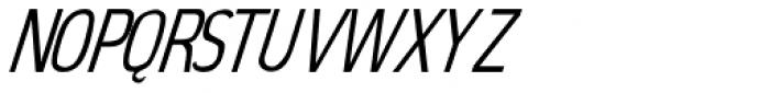 Elegancy Italic Font UPPERCASE