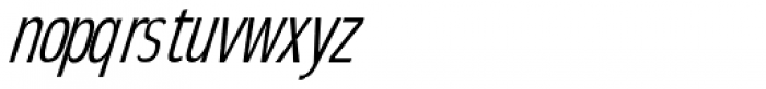 Elegancy Italic Font LOWERCASE