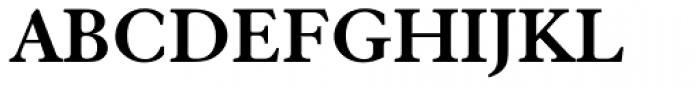 Elegant Garamond Bold Font UPPERCASE