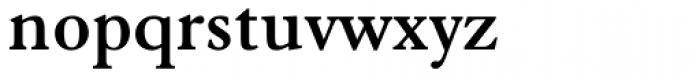 Elegant Garamond Bold Font LOWERCASE