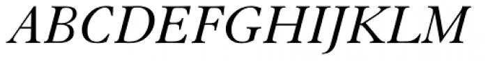 Elegant Garamond Italic Font UPPERCASE