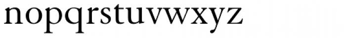 Elegant Garamond Font LOWERCASE