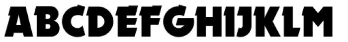 Elektromoto NF Font UPPERCASE