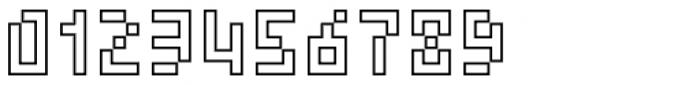 Element 15 Outline Font OTHER CHARS