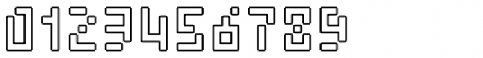 Element 15 Round Out Font OTHER CHARS