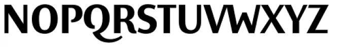 Elemental Sans Pro Bold Font UPPERCASE