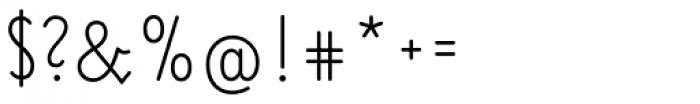 Elementarz Pro Font OTHER CHARS