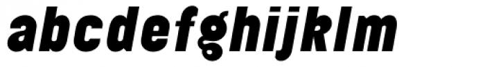 Elephant Black Oblique Font LOWERCASE