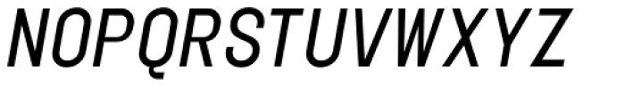 Elephant Light Oblique Font UPPERCASE