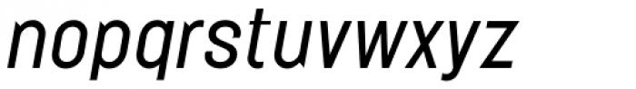 Elephant Light Oblique Font LOWERCASE