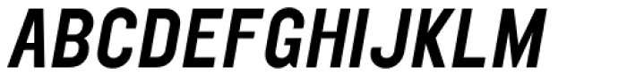 Elephant Medium Oblique Font UPPERCASE