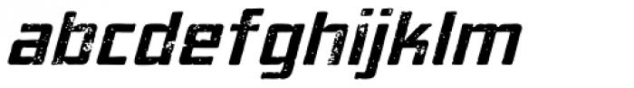 Elephantmen Aged Italic Font LOWERCASE