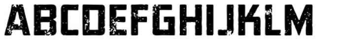 Elephantmen Aged Font UPPERCASE