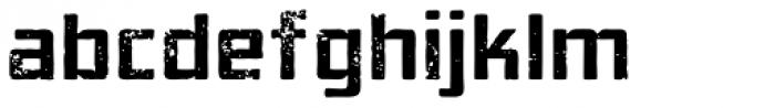 Elephantmen Aged Font LOWERCASE