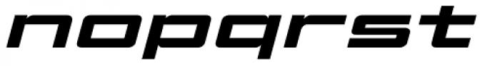 Elephantmen Greatest Bold Italic Font LOWERCASE