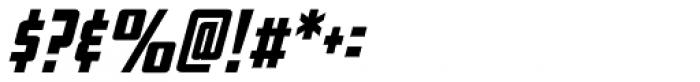 Elephantmen Taller Bold Italic Font OTHER CHARS