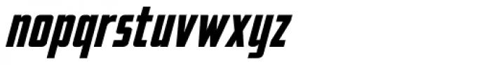 Elephantmen Taller Bold Italic Font LOWERCASE