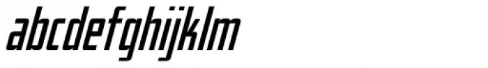 Elephantmen Taller Italic Font LOWERCASE