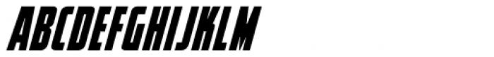 Elephantmen Tallest Bold Italic Font UPPERCASE