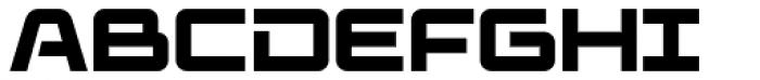 Elevon Four G Font UPPERCASE