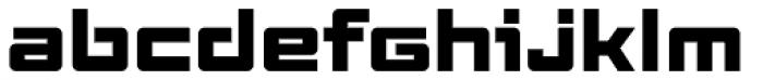 Elevon Four G Font LOWERCASE