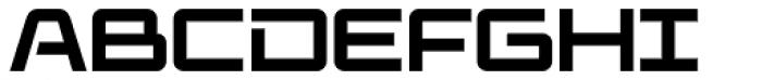 Elevon Three G Font UPPERCASE